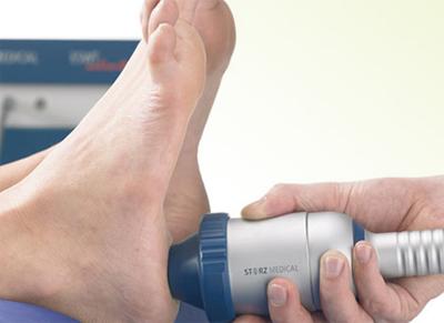 Лечение пяточной шпоры с помощью ударно волновой терапии УВТ